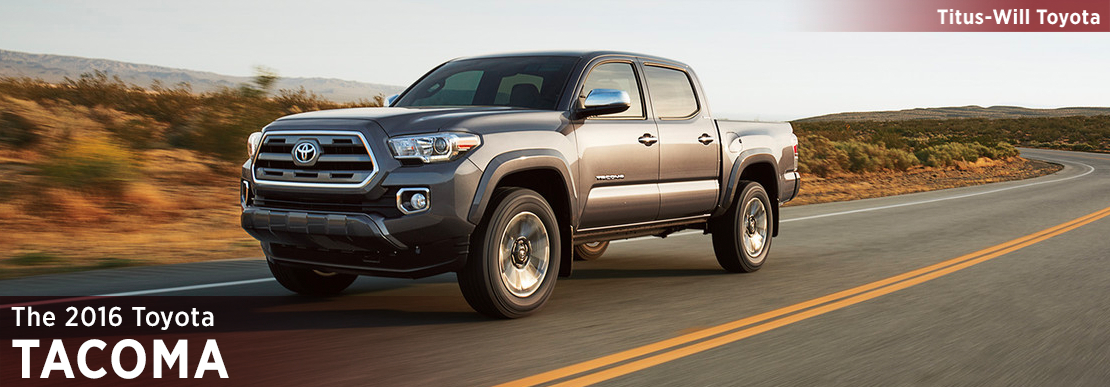 2016 Toyota Tacoma Model Information in Tacoma, WA