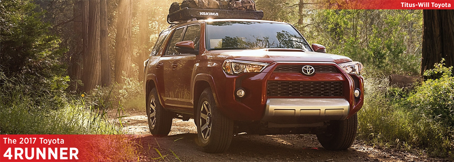 2017 Toyota 4Runner Model Information