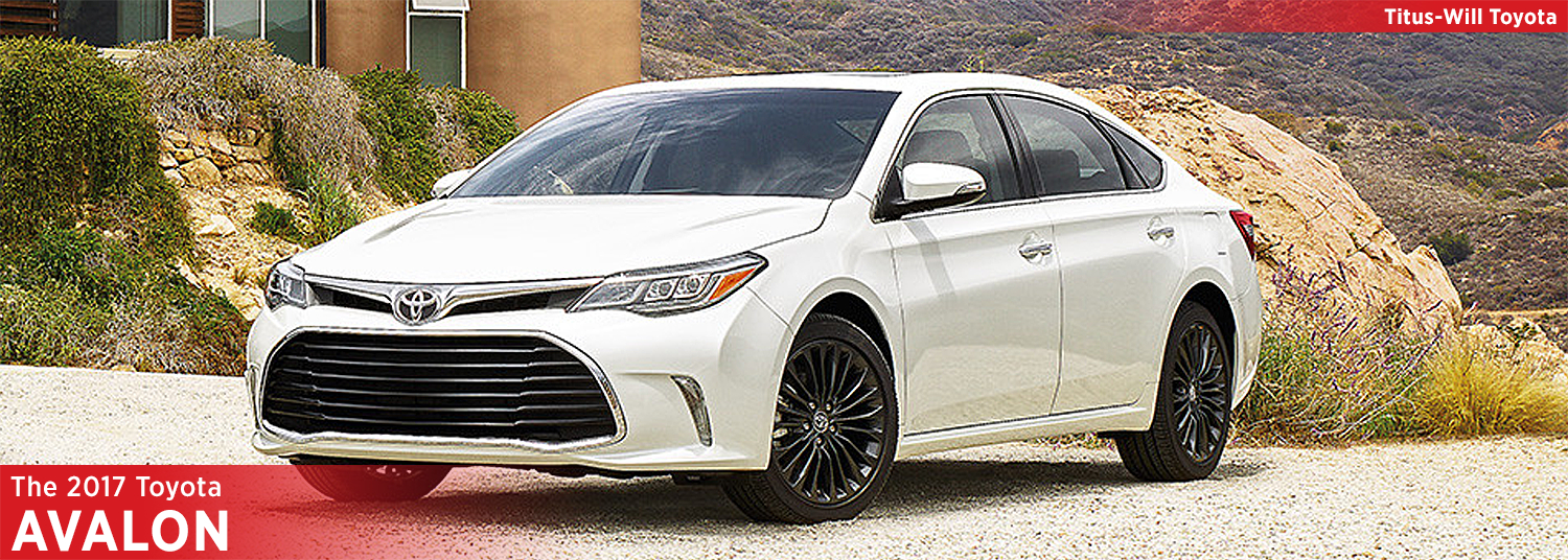 2017 Toyota Avalon Model Information