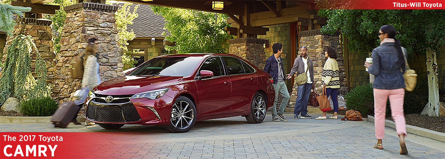 2017 Toyota Camry Model Information
