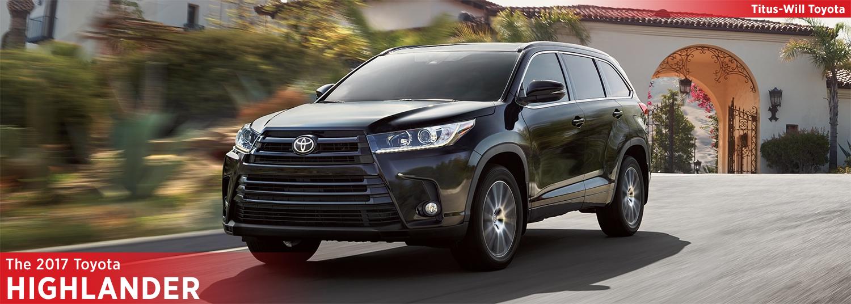2017 Toyota Highlander Model Information