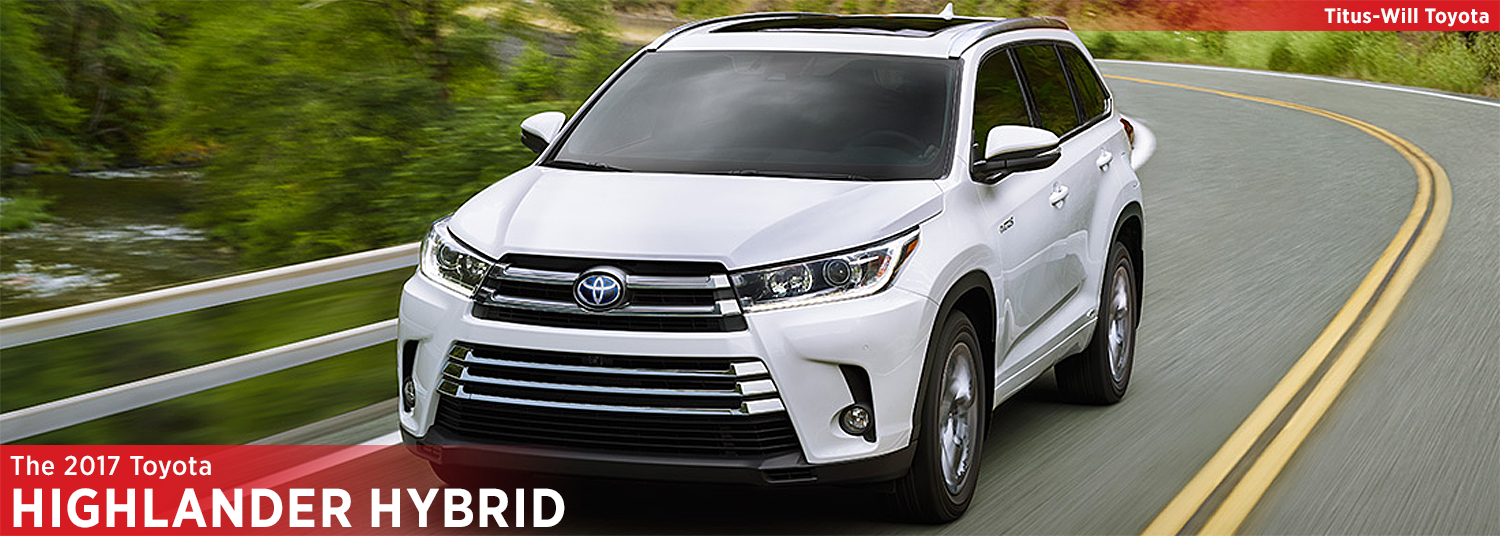 2017 Toyota Highlander Hybrid Model Information