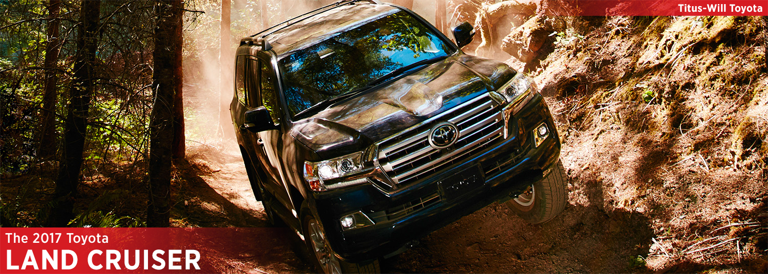 2017 Toyota Land Cruiser Model Information