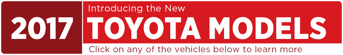 2017 Toyota Model Information in Tacoma, WA