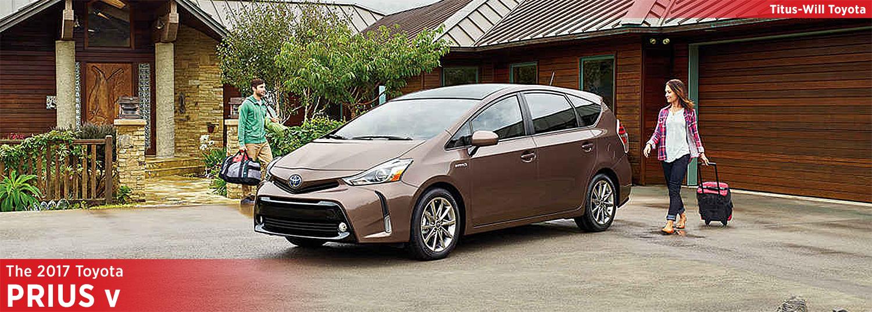 2017 Toyota Prius v Model Information