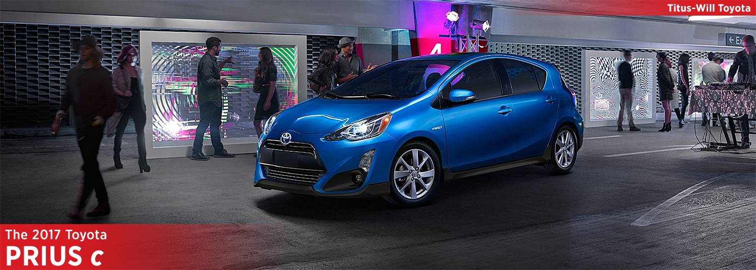 2017 Toyota Prius C Hatchback Model Information