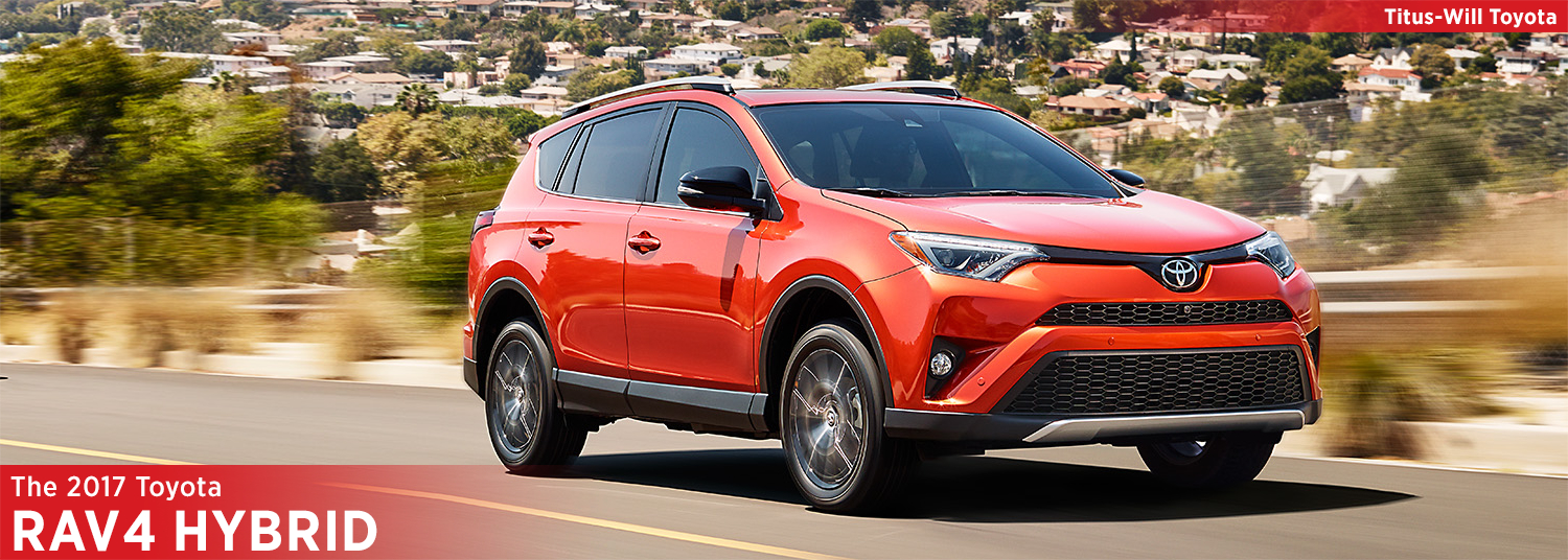 2017 Toyota RAV4 Hybrid Model Information