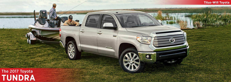 2017 Toyota Tundra Model Information