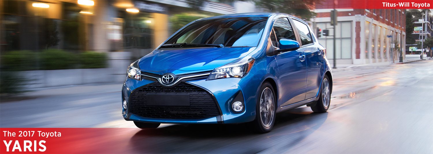 2017 Toyota Yaris Model Information
