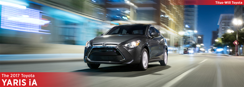 New 2017 Toyota Yaris iA Model Information