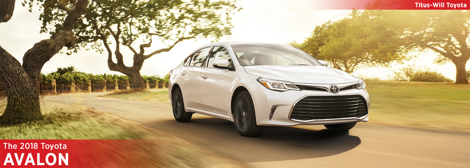 New 2018 Toyota Avalon Model Information