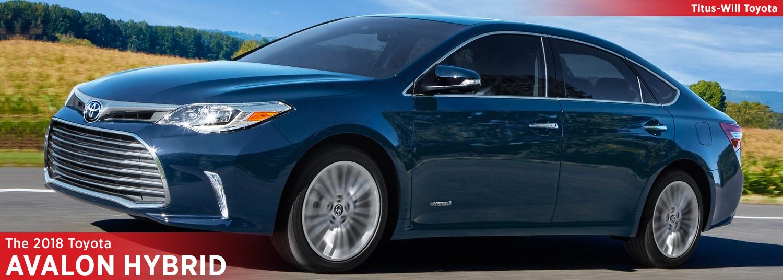 New 2018 Toyota Avalon Hybrid Model Information