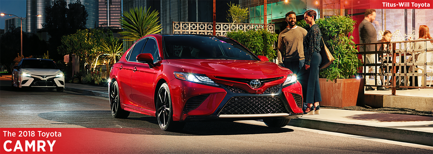 New 2018 Toyota Camry Model Information