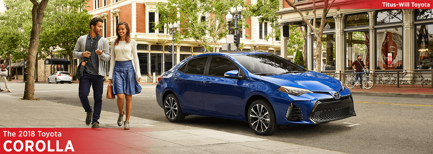 Research the 2018 Toyota Corolla at Titus-Will Toyota in Tacoma, WA