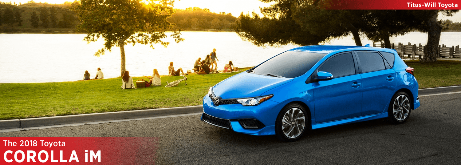 Research the 2018 Toyota Corolla iM model at Titus Will Toyota in Tacoma, WA