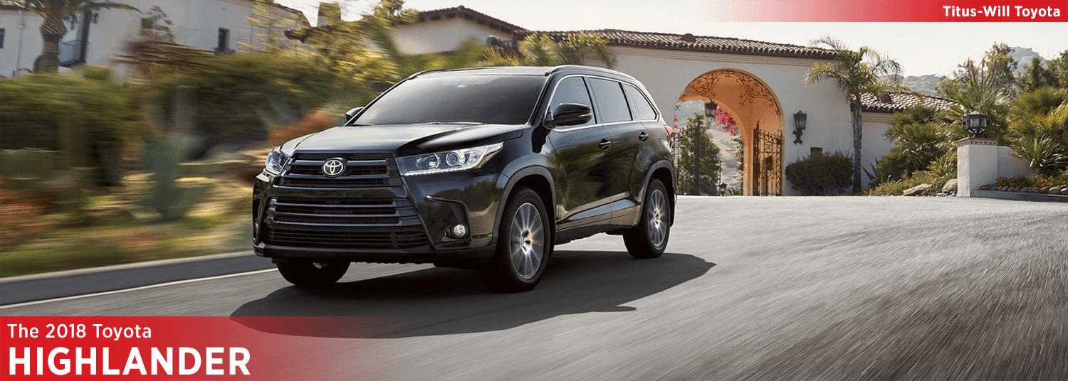 New 2018 Toyota Highlander Model Information