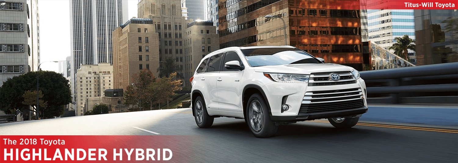 New 2018 Toyota Highlander Hybrid Model Information