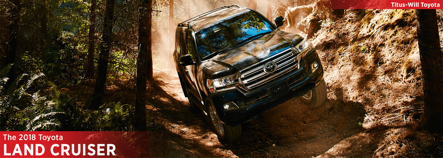 Research the 2018 Toyota Land Cruiser model in Titus Will Toyota in Tacoma, WA