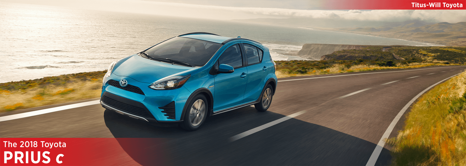 Research the 2018 Toyota Prius c model in Titus Will Toyota in Tacoma, WA
