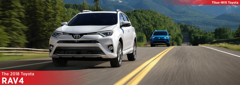 New 2018 Toyota RAV4 Model Information
