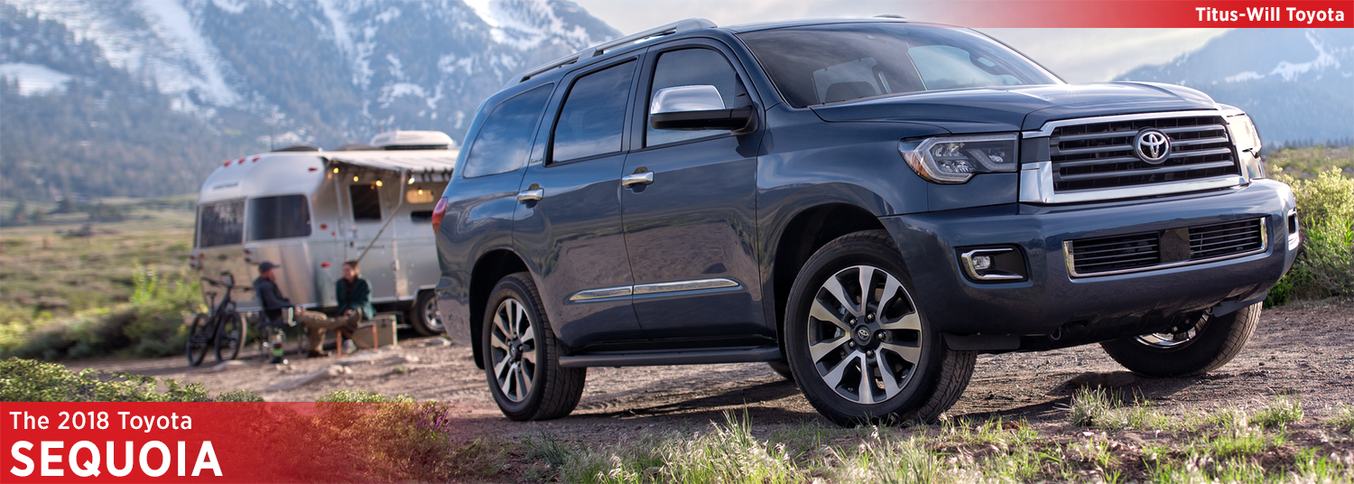 New 2018 Toyota Sequoia Model Information