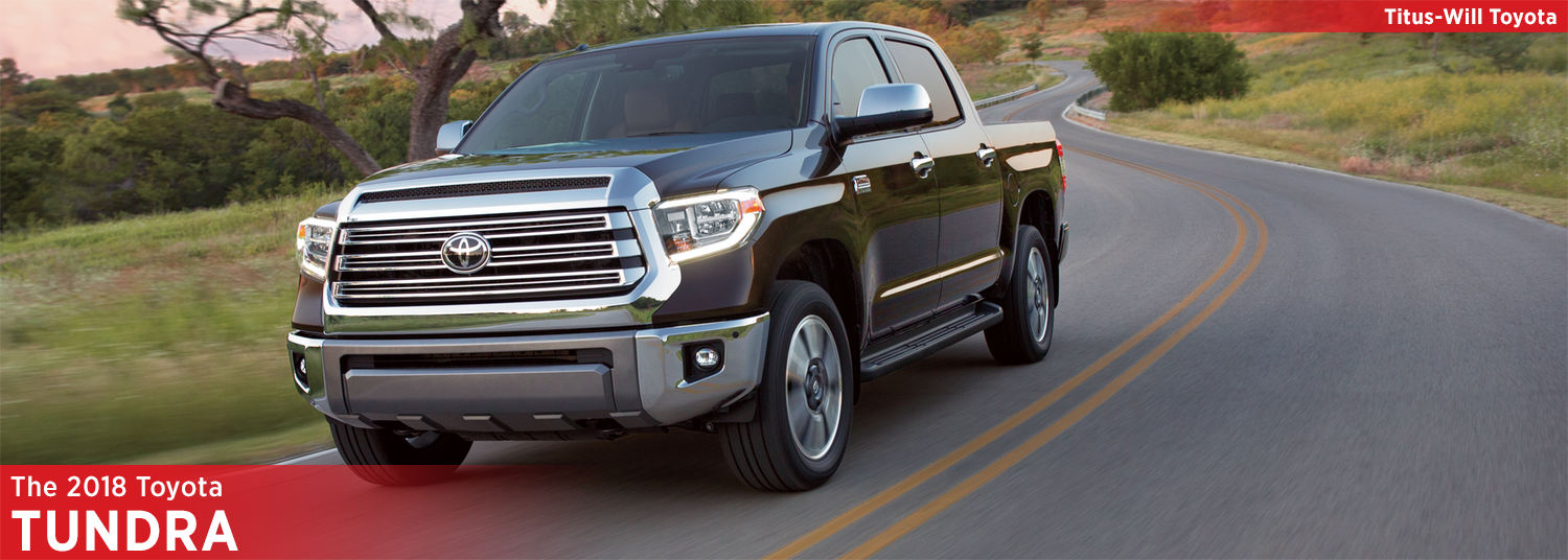New 2018 Toyota Tundra Model Information