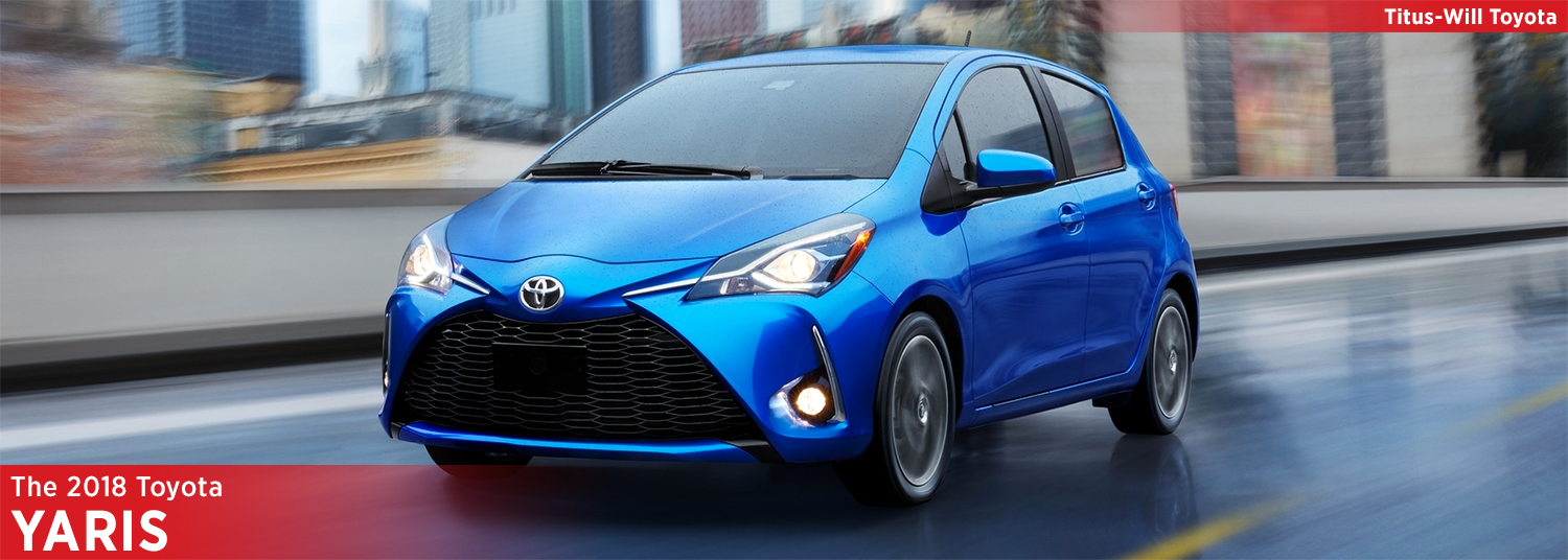 New 2018 Toyota Yaris Model Information