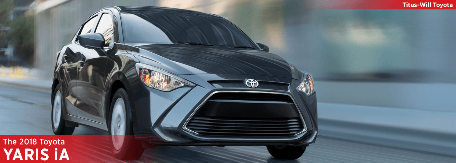 Research the 2018 Toyota Yaris iA model at Titus Will Toyota in Tacoma, WA