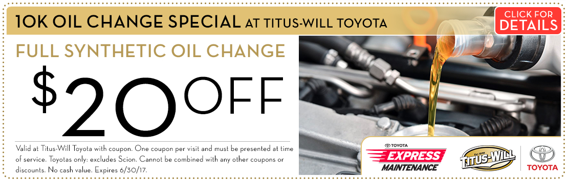 Toyota 10K-Mile Synthetic Oil Change Service Special Savings Serving Tacoma, WA. Click for Details.