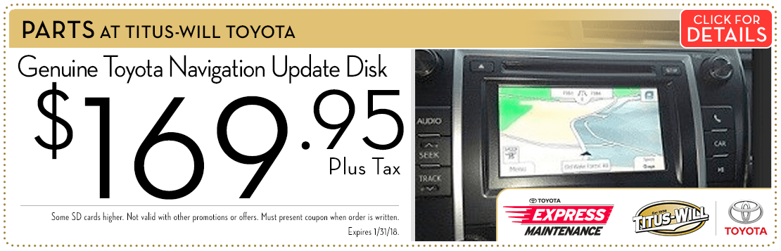 Toyota Navigation Update Disc Special savings Serving Tacoma, WA