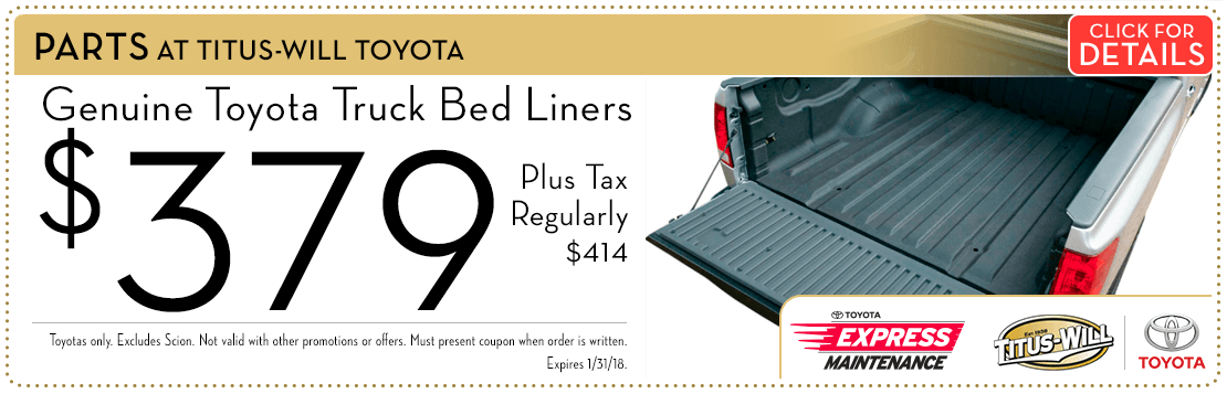 Toyota Truck Bed Liner Special savings Serving Tacoma, WA