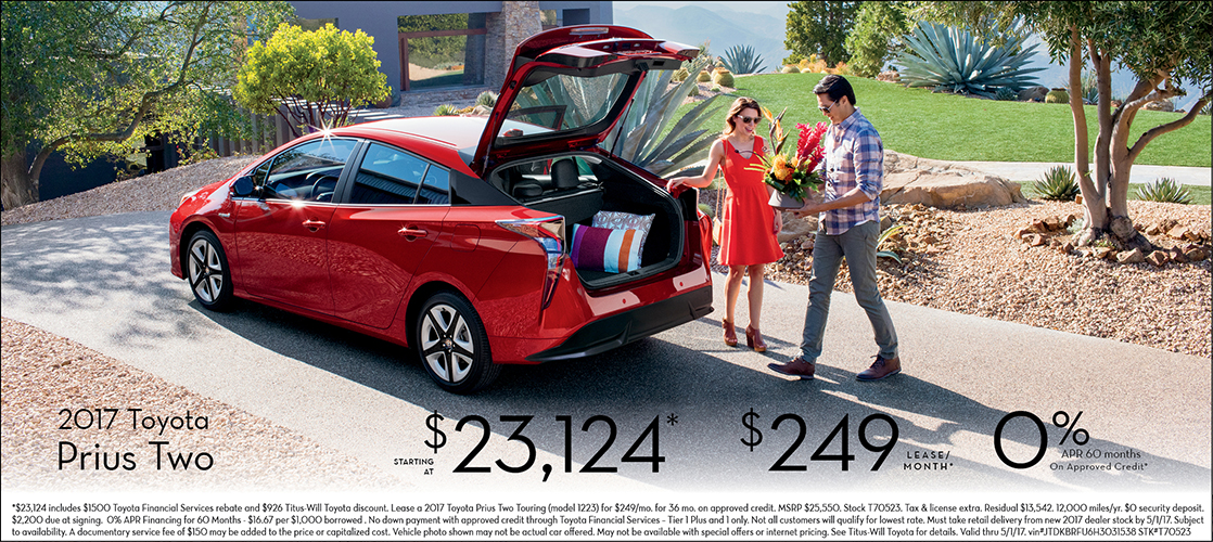 2017 Toyota Prius Two Sales Special in Tacoma, WA