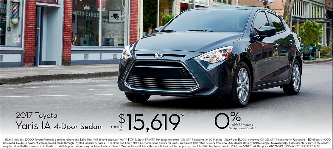 2017 Toyota Yaris iA Sales Special in Tacoma, WA