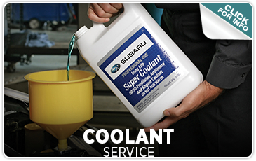 Coolant Replacement Information