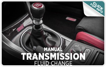 Indianapolis IN Service information - Subaru Manual Transmission Fluid Change service from Tom Wood Subaru - click to learn more