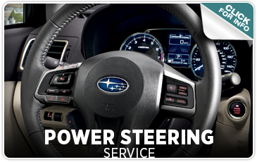 Indianapolis IN Service information - Subaru Power Steering service from Tom Wood Subaru - click to learn more