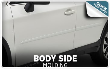 Click to find out more information about genuine Subaru body side molding from Tom Wood Subaru in Indianapolis, IN