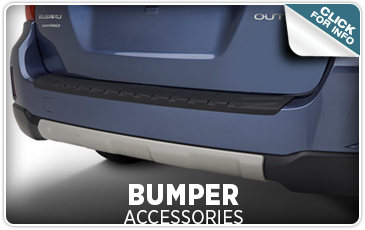 Click to find out more information about genuine Subaru bumper accessories from Tom Wood Subaru in Indianapolis, IN