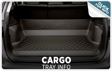 Learn about Genuine Subaru Cargo Trays from Tom Wood Subaru