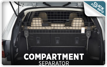 Learn about Genuine Subaru Dog Guards / Pet Separators from Tom Wood Subaru