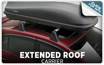 Click here to learn more about genuine Subaru Extended Roof Carriers from Tom Wood Subaru in Indianapolis, IN