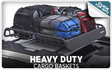 Click here to learn more about genuine Subaru Heavy Duty Cargo Baskets from Tom Wood Subaru in Indianapolis, IN