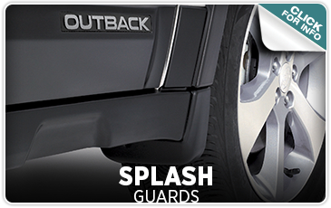 Click here to learn more about genuine Subaru Splash Guards from Tom Wood Subaru in Indianapolis, IN