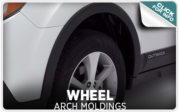 Click here to learn more about genuine Subaru Wheel Arch Moldings from Tom Wood Subaru in Indianapolis, IN