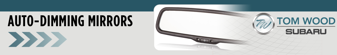 Genuine Subaru auto-dimming mirrors in Indianapolis, IN