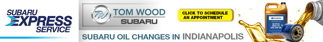 Subaru Oil Change Service Indianapolis, IN