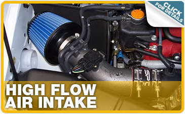 Click to research Subaru STI high flow air intake performance parts in Indianapolis, IN