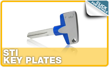 Click to research Subaru STI key plates performance parts in Indianapolis, IN