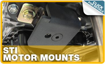 Click to research Subaru STI motor mounts performance parts in Indianapolis, IN