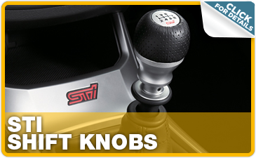 learn more about high quality Subaru performance parts like an STI shift knob from Tom Wood Subaru in Indianapolis near Carmel, IN